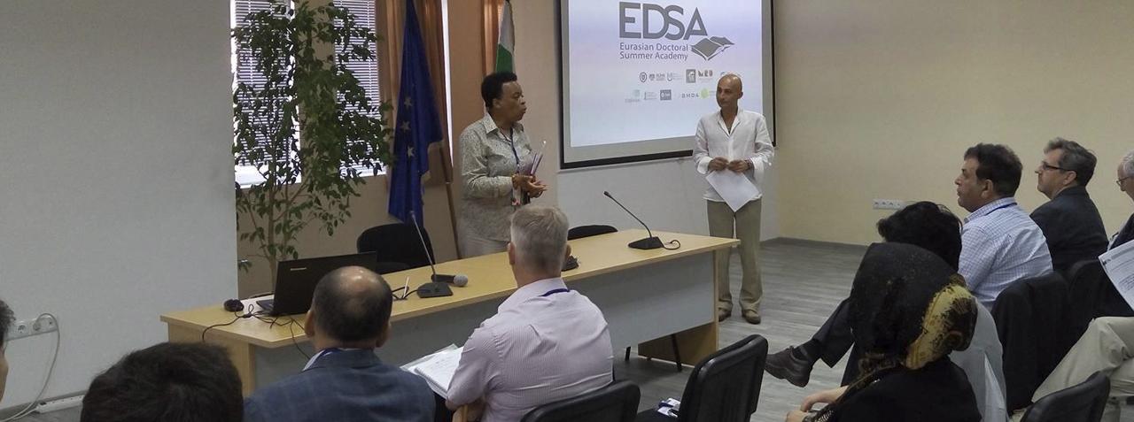 EURASIAN DOCTORAL SUMMER ACADEMY (EDSA)